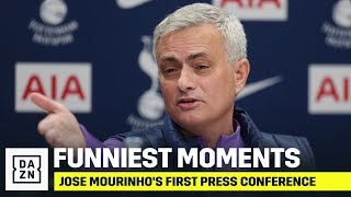The Funniest & Best Moments From Jose Mourinho's First Press Conference As Tottenham Manager