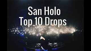 San Holo - Top 10 Drops