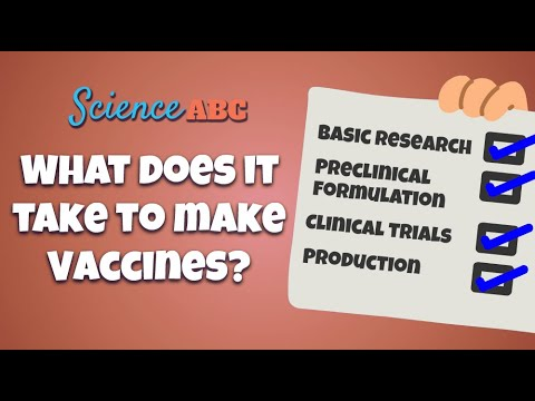 What Does It Take To Make Vaccines?