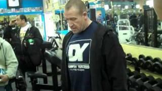 Dorian Yates Biceps Training