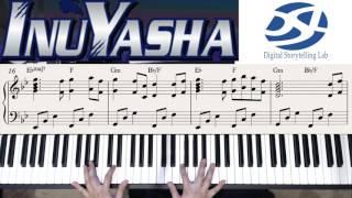 """이누야샤 OST """"시대를 초월한 마음"""" 피아노 연주하기 (Piano by Seyong Han)"""