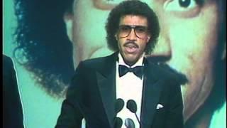 Lionel Richie Wins Soul Male - AMA 1983
