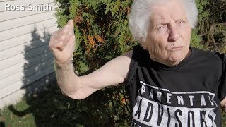 Grandma raps Eminem's Lose Yourself by Ross Smith | 9GAGFunOff