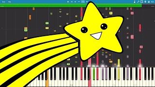 IMPOSSIBLE REMIX - Shooting Stars Meme - Piano Cover - Bag Raiders