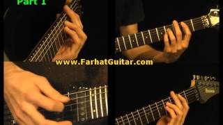 Afraid To Shoot Stranger - Iron Maiden-  Part 1/11 www.FarhatGuitar.com