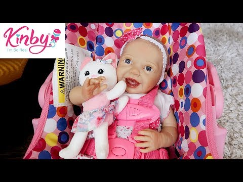 Download Video Unboxing Reborn Baby Doll From Kinby | New Play Dolls From Bountiful Baby And ROSE