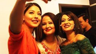 साम्राज्ञीको प्रेममा सलिन   Samragyee Shah on A Mero Hajur 2