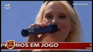 Cristina Ardisson Somos Portugal TVI com o Tema Kiss na Sertã
