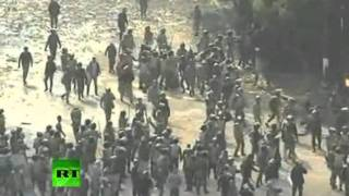 VÍDEO CHOCANTE - Regime Militar no Egito - Menina do Sutiã Azul é brutalmente agredida!