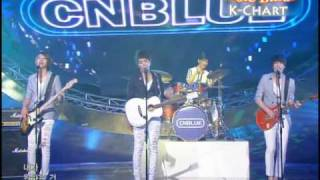 [K-Chart] 3. [-] Love - CNBLUE (2010.6.11 / Music Bank Live)