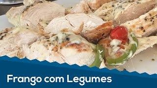 Vídeo Receita #2 - FRANGO COM LEGUMES (Sem Óleo)