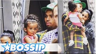 Is Chris Brown Smashing Royalty's Babysitter To Smithereens? | BOSSIP REPORT