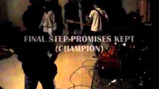Final Step - Promises Kept (champion cover) @bandungan private party