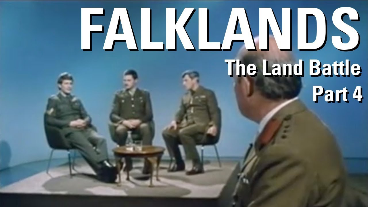 The Falklands War – The Land Battle Part 4