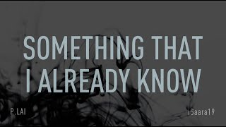 Backstreet Boys - Something That I Already Know (Lyric Video) HD