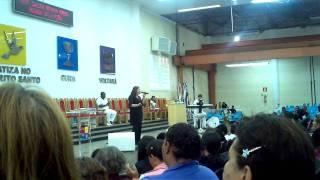 THALYTA - MINHA FORTALEZA - TEMPLO DOS ANJOS BH - 11.01.2012