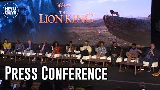 The Lion King Cast Press Conference and On Stage Intro