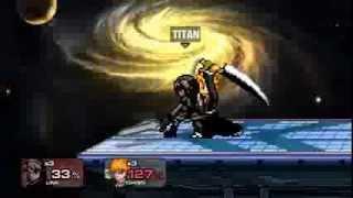[SSF2 v0.9a] Link (Titan) VS Ichigo (CPU)