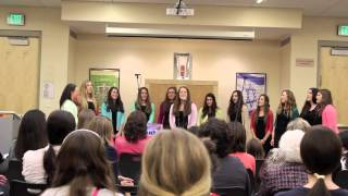 """The Lion Sleeps Tonight"" Cover The Lion King By The Mizrachi Mayhen A Cappella Choir"