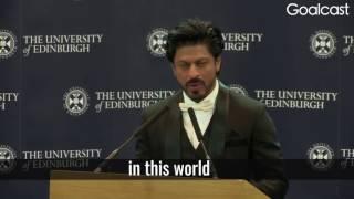 Shahrukh Khan - Inspirational speech about life sucess