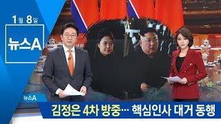 김정은 4차 방중…김여정 포함 핵심인사 대거 동행 | 뉴스A