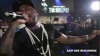 YOUNG JEEZY REMIXES LIVE on Stage  NYC