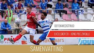 Screenshot van video Samenvatting Excelsior'31 - Jong PEC Zwolle