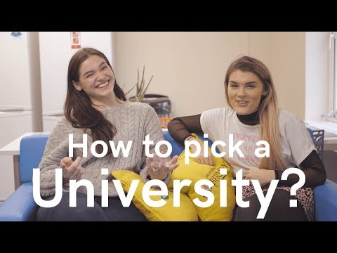 How to decide on the right university...