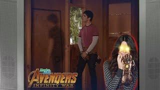 Drake and Josh in treehouse but I don't feel so good... (Avengers Infinity War meme)