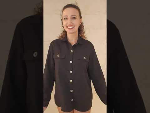 Camisa Viscolinho Cantão Preto