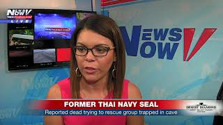 BREAKING: Thai authorities report former navy SEAL working cave rescue has died (FNN)