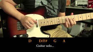 Ed Sheeran - Thinking out Loud Guitar Cover - Tutorial HD