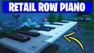 Fortnite 'Play the Sheet Music at the Piano near Retail Row' WORKING GUIDE (Week 6 Challenges)