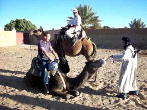 camel trekking with see-morocco.com