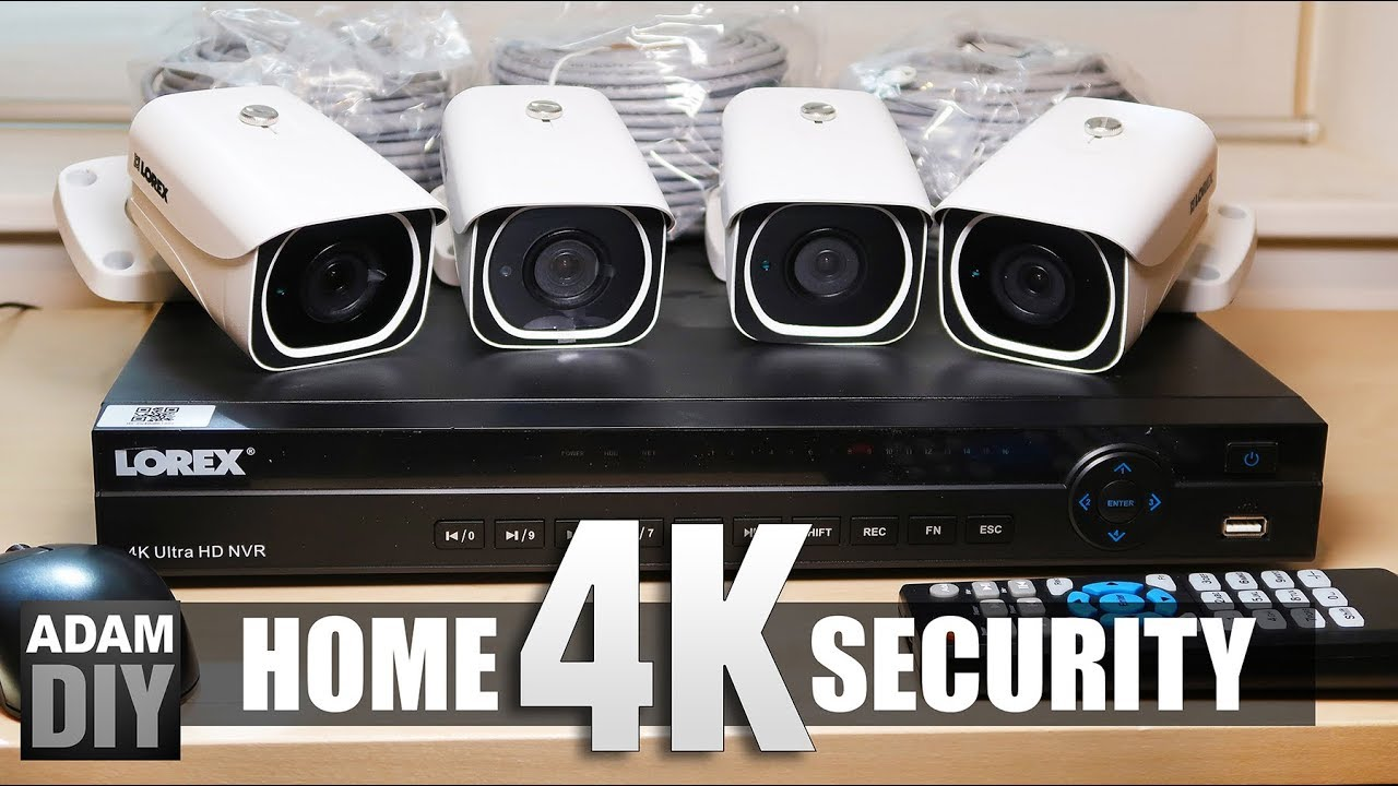 Home Security Package Howe TX