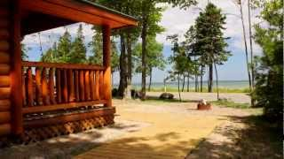 Video Tour of Mackinaw Mill Creek Camping - YouTube