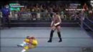 CM Punk vs Carlito WWE SvR 08