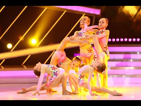 Trupa de fetiţe UNEFS, dans de excepţie pe scena Next Star!