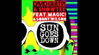 David Guetta + Showtek   Sun Goes Down Feat  MAGIC! + Sonny Wilson Big Room Remix - Leo Webber