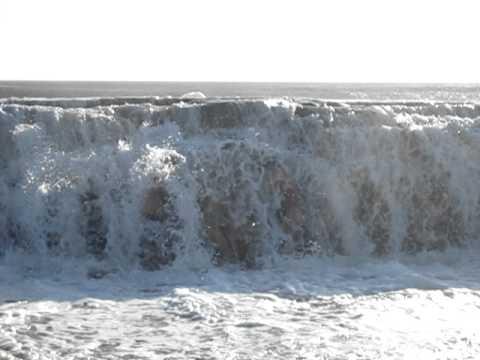 Waves at Pocho Mil beach, Nicaragua