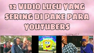 VIDIO LUCU YANG SERING DI PAKE PARA YOUTUBERS    Enjelyna Claudya