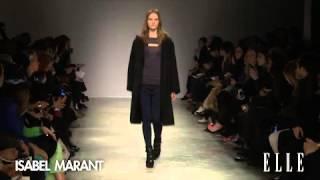 Isabel Marant. Paris Fashion Week otoño-invierno 2013-2014.