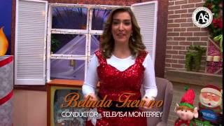 Belinda Treviño (Bely), les desea una Feliz Navidad y un Próspero Año Nuevo