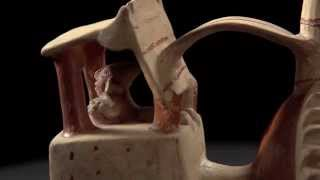 Ancient Peruvian Whistling Vessel