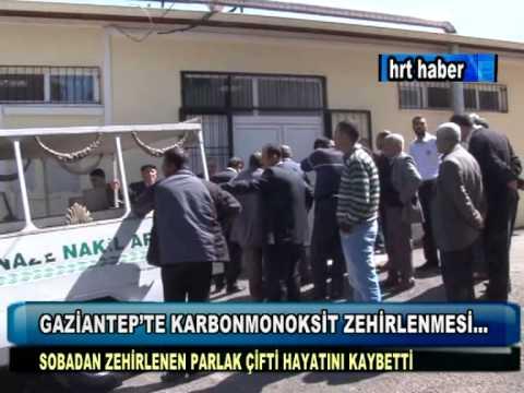 GAZİANTEP'TE KARBONMONOKSİT ZEHİRLENMESİ...