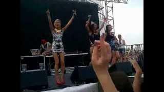 SEREBRO Mama Lover live Electrobeach Festival 2012
