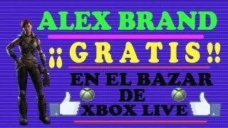¡¡ ALEX BRAND GRATIS EN EL BAZAR DE LIVE !!