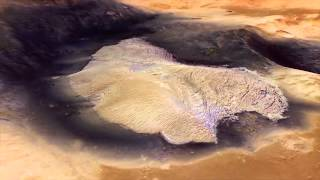 Ancient Mars' Water Action Visualized From Orbiter | Video