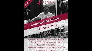 LUDWIG DRUM ASIA ROAD SHOW WITH NATE SMITH