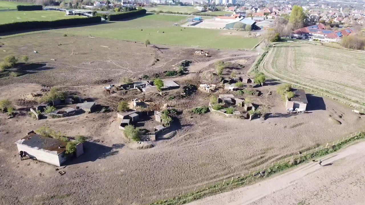 WW2 Anti-Aircraft Gun Emplacement Ruins near Alnwickhill, Edinburgh
